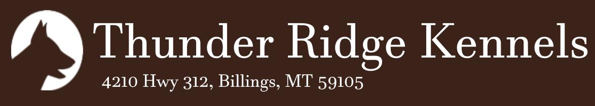 Thunder Ridge Kennels - Dog Boarding Billings